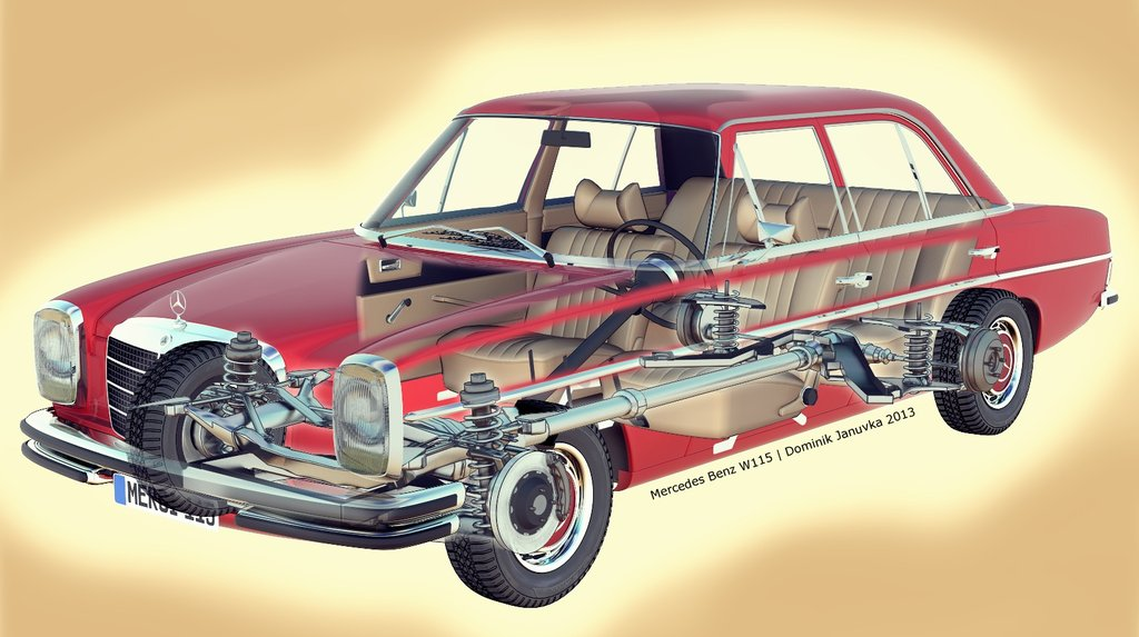 Mercedes Benz W114 W115 Buyer Guide & Common Repairs