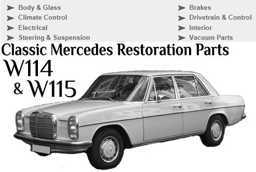 Mercedes-benz w114 / w115 service repair manual 1968-1.