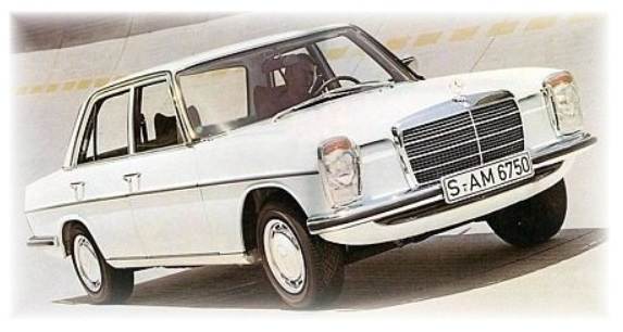 Mercedes Benz W114 W115 Workshop Manuals
