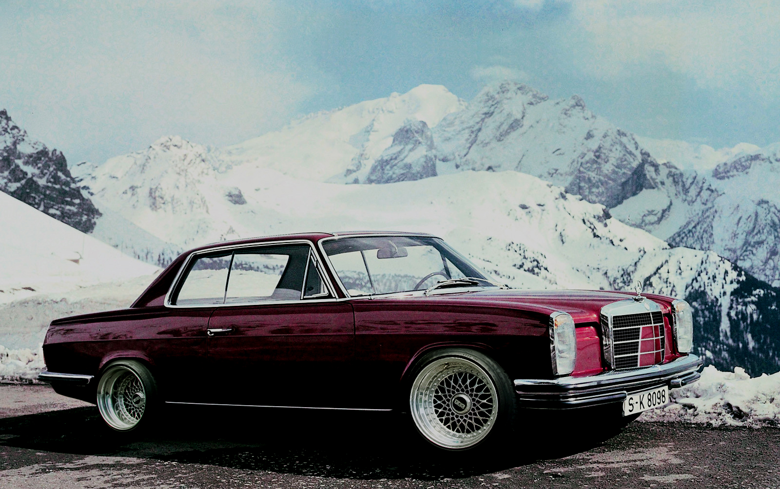 Mercedes Benz W114 W115 Electrical Troubleshooting Manuals 300d Wiring Diagram