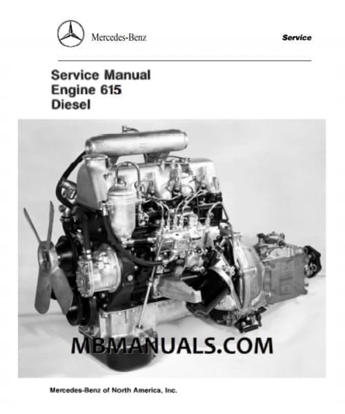 Mercedes OM615 Engine .pdf Service Repair Manual