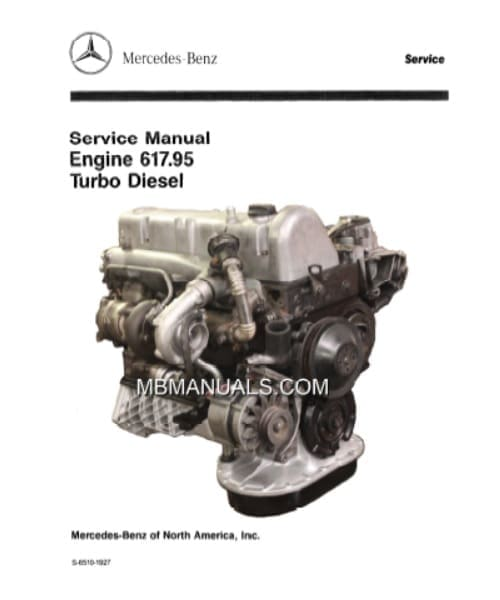 Mercedes OM617 pdf Engine Service Manual